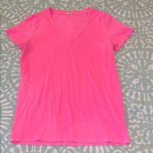 Broken-in cotton t-shirt